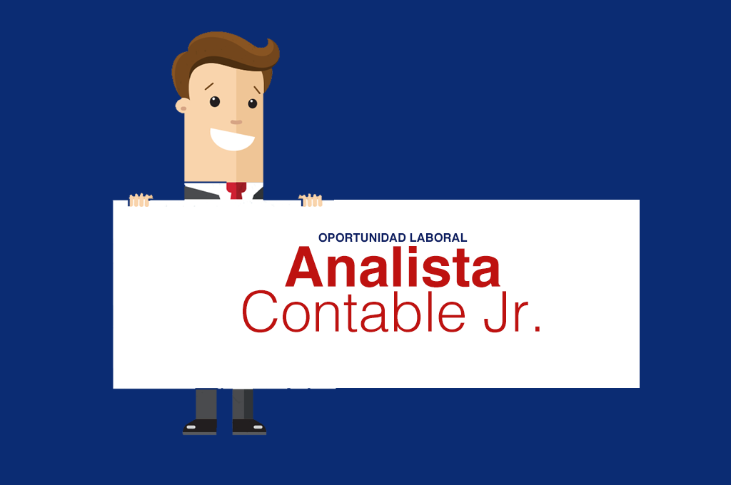 Analista contable Jr te estamos buscando